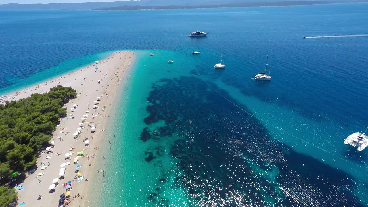 Zlatni Rat Beach - Beautifical places in Croatia